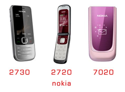 Hp Nokia Flip 7020 nokia announces 2730 classic 2720 fold and 7020 lowcost phones