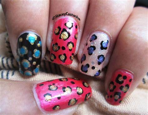 easy nail art print easy leopard print nails nail art gallery