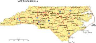 map carolina counties