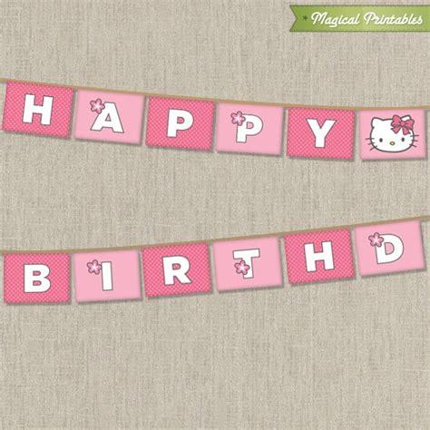 hello birthday banner template free hello printable birthday banner hello