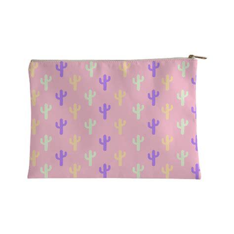 pastel cactus pattern pastel cactus accessory bags human