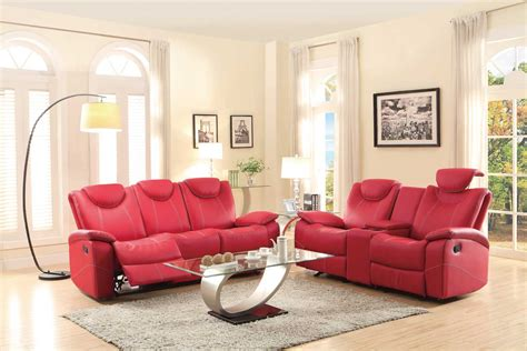 homelegance reclining sofa reviews homelegance talbot reclining sofa set red bonded leather