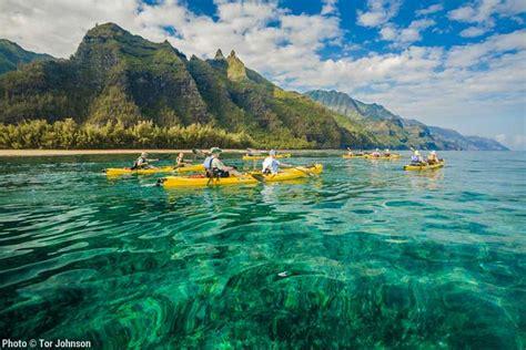 kauai river boat tours napali coast ocean kayak tour kauai