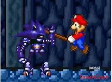 Super Mario Bros Z combates: Mario y Sonic VS Mecha Sonic ... Mecha Mario Vs Metal Sonic