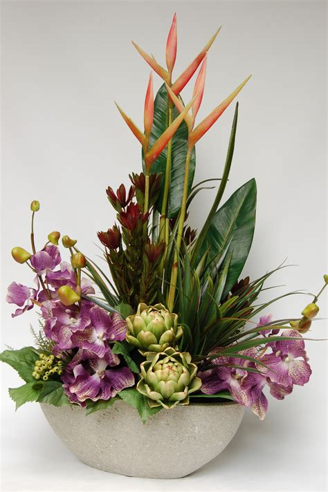Silk Flower Arrangements by Artificial Flower Arrangements Ideas Flower Idea