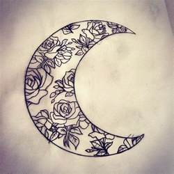 37 inspirational moon tattoo designs with images