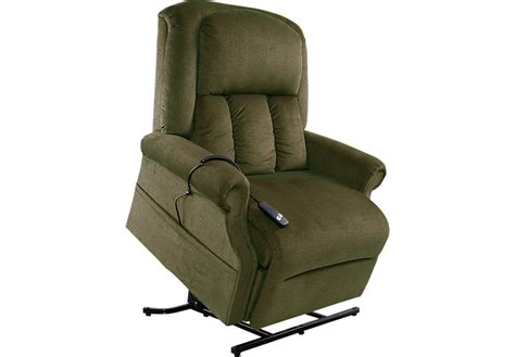 green recliner eagle point forest lift chair recliner recliners green