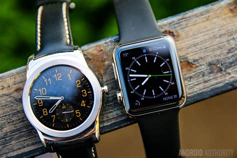 Android Wear Faces by Android Wear Vs Apple Software Comparison