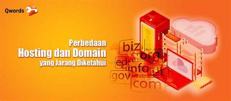 perbedaan hosting  domain  jarang diketahui qwords