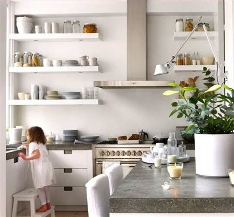 kitchen bookcase ideas 15 beautiful kitchen designs with floating shelves rilane