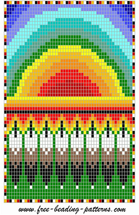 beading loom patterns free american bead work on alpha patterns loom beading and
