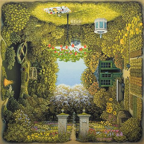 Yerka Paints Like An by Four Sided Paintings By Jacek Yerka