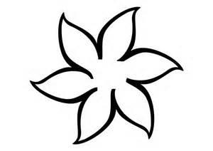 spring flower template clipart best