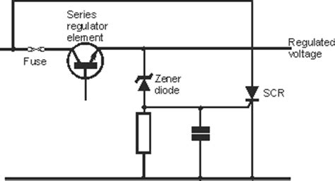 zener diode relay protection zener diode