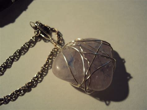 how to make rock jewelry with wire rock necklace 183 how to make a wire wrapped pendant