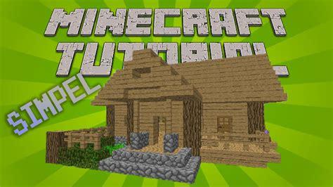 youtube membuat rumah minecraft cara membuat rumah kayu simpel dan sederhana