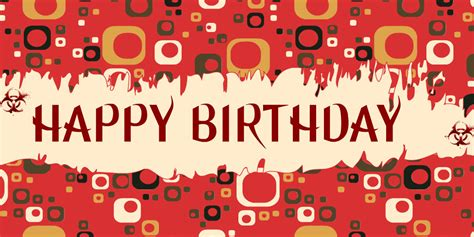 How To Make A Happy Birthday Banner Of Paper - awesome happy birthday banners and wallpapers