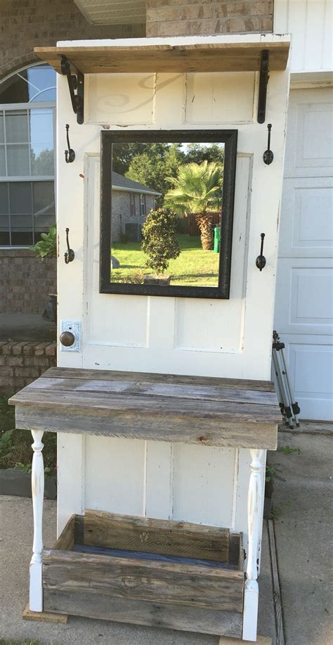 how to make an old door into a headboard 25 best ideas about antique hall tree on pinterest door