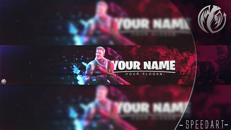 fortnite youtuber names free fortnite banner template speedart astary 7