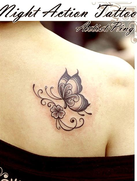 cute tribal tattoos 60 butterfly tattoos feminine and tribal butterfly
