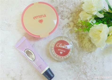 Harga Emina Cheeklit Powder Blush reezki s emina cosmetics products review