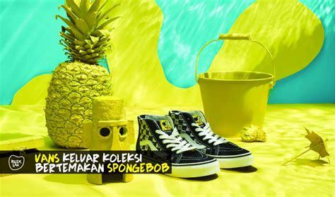 Harga Vans Spongebob vans berkolaborasi bersama nickelodeon bakal hadir dengan