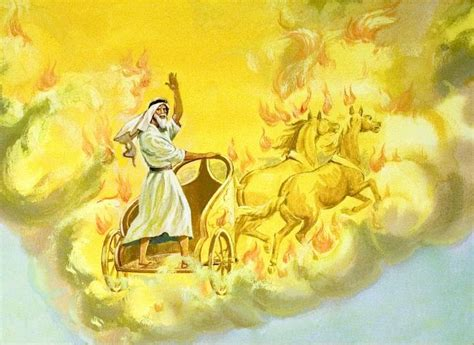elijah and chariot of fire yahweh the fire of justice part two pure faith