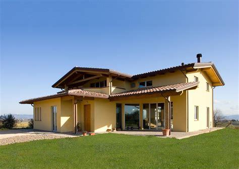 a casa di casa a due piani umbria costantini sistema legno