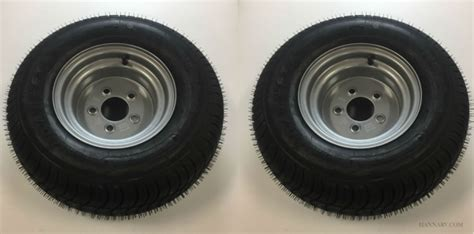 triton 09942 class c snowmobile trailer tires with aluminum rim pair 20 5 x 8 10 205 65 10 triton 3165 class c snowmobile