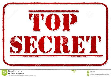 streng geheim stempel auf wei 223 lizenzfreies stockbild