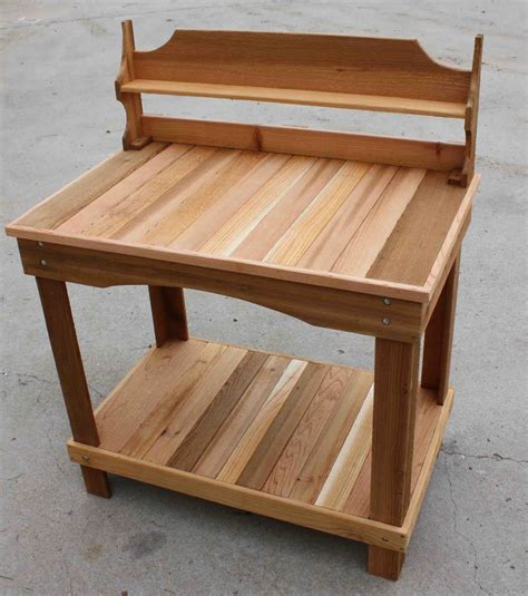 cedar potting bench cedar creek woodshop porch swing patio swing picnic