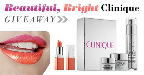 beautiful bright clinique giveaway 2016 - Clinique Giveaway