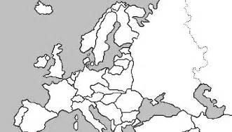World War Ii Outline Map Of Europe by Blank Map Europe World War Ii