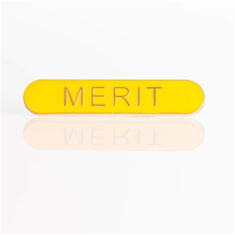 merit badge blue card template enamel bar pin badge merit emblem