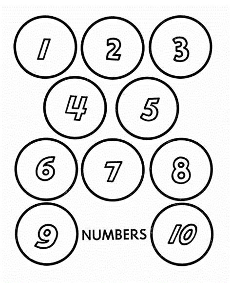 number names worksheets coloring numbers 1 10 free printable worksheets kindergarten