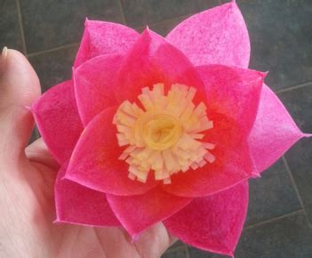 wafer paper lotus flower tutorial paper lotus flower collection of the best handmade diy