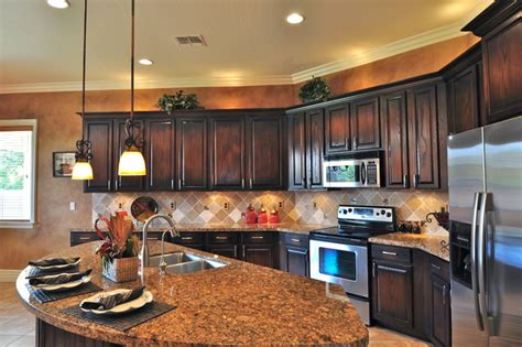 black stained kitchen cabinets stained oak kitchen cabinets quicua
