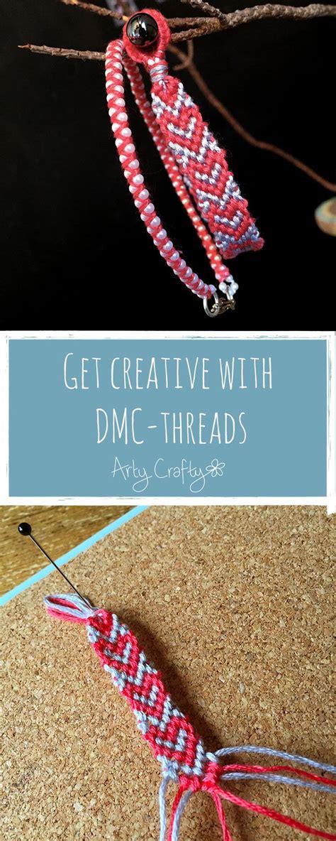 25  bästa Embroidery thread bracelets idéerna på Pinterest   Gör det själv armband