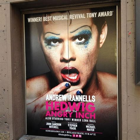 andrew and the angry inch hedwig new art for andrew rannells in hedwig the angry inch