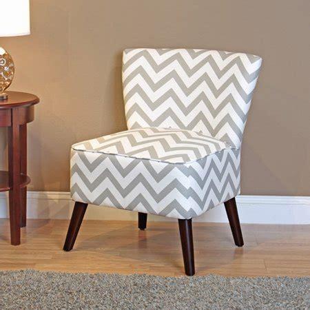 chevron chairs dorel living chevron accent chair gray and white