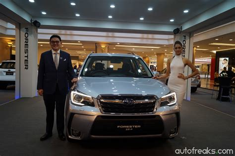 subaru malaysia subaru launches facelift forester in malaysia priced from
