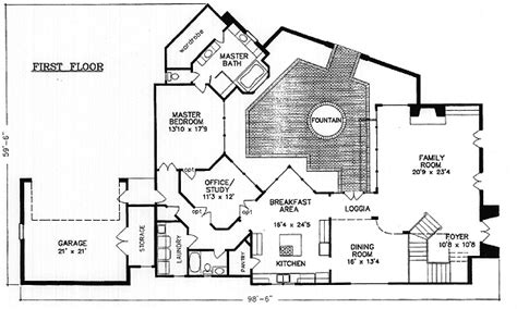interior courtyard floor plans house plans with interior photos modern house plans with