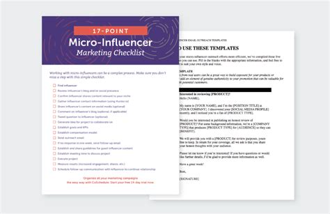 How To Boost Engagement With Micro Influencers The Right Way Influencer Outreach Template