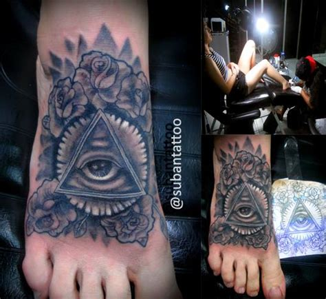 suban tattoo indonesia illuminati tattoo by subantattoo