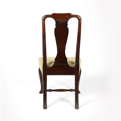 Dining Chairs Walnut Legs 18th Century Walnut Dining Chair With Legs Cira 1740 Garden Court Antiques