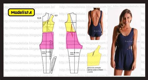 pattern drafting jumpsuit 25 best images about patrones jumpsuit on pinterest