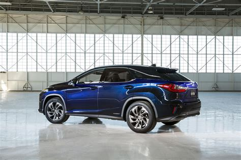 new lexus rx all new 2016 lexus rx crossover arrives with bold new