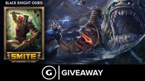 Xbox Code Giveaway - smite black knight osiris skin code giveaway pc ps4 xbox softlabpro