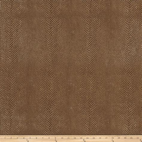 Buy Leather For Upholstery by Fabricut Salem Faux Leather Pecan Discount Designer