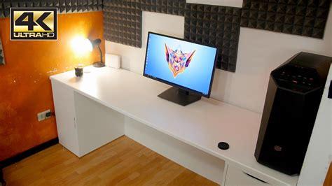 scrivania gaming la scrivania 232 pronta ora si passa ai monitor parte 2